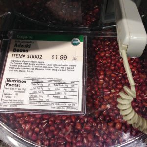 Earth Fare Adzuki beans