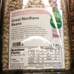 Whole Foods Market Great Northern Beans