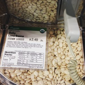 Earth Fare : Baby Lima Beans Organic