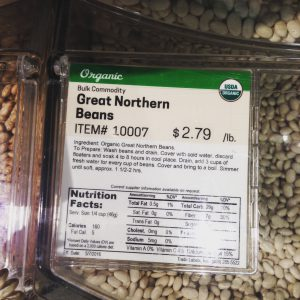 Earth Fare : Great Northern Beans Organic