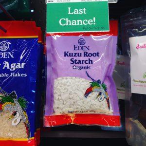 Kuzu Roots Starch