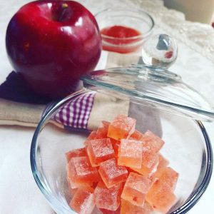 Apple confiture kohaku Jelly - candy 琥珀糖