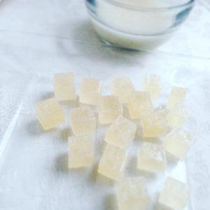 甘酒の琥珀糖 Kohaku Jelly-Candy of Amazake