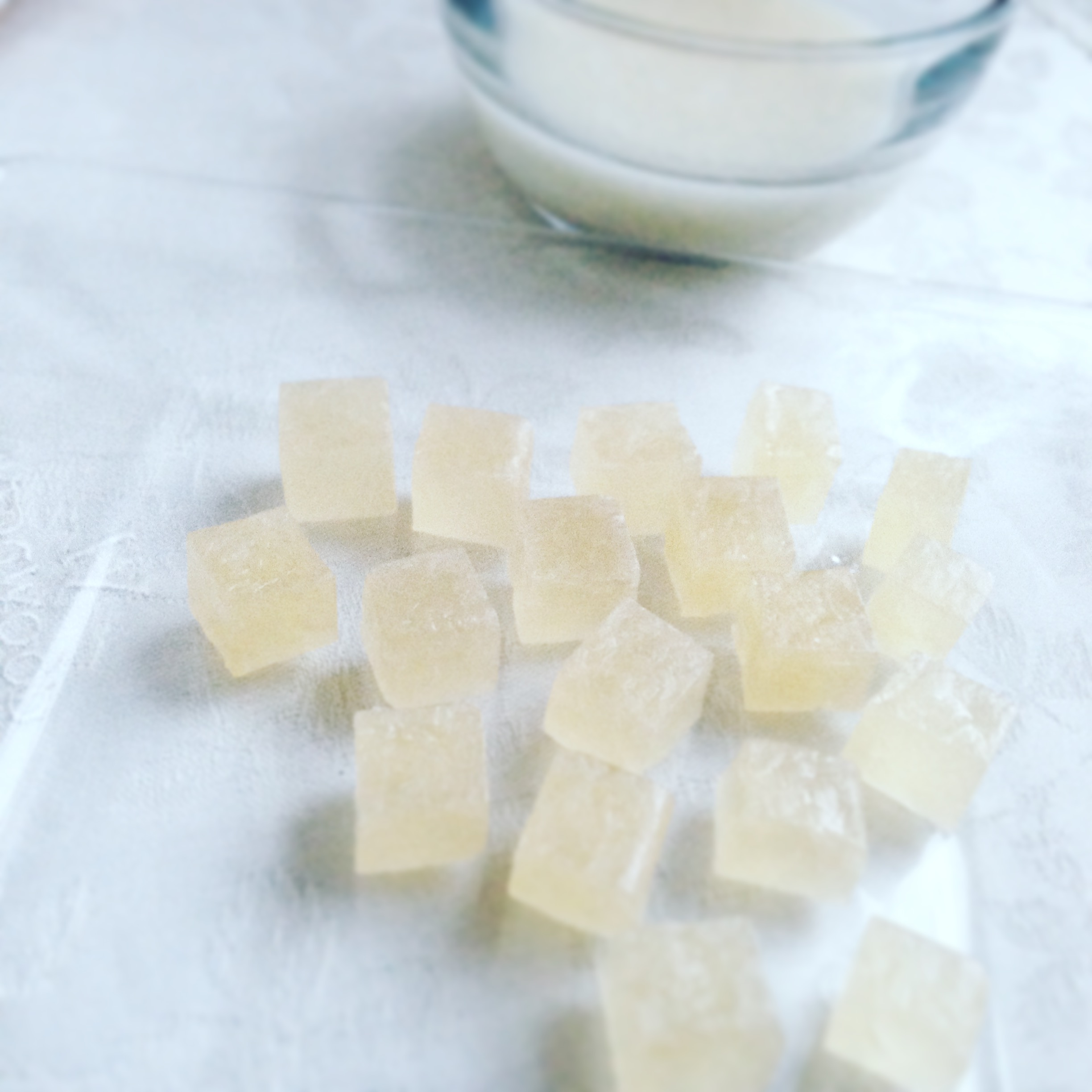 甘酒の琥珀糖 Kohaku Jelly-Candy of Amazake