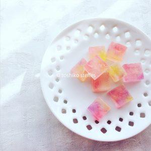 オーダーメイドの琥珀糖