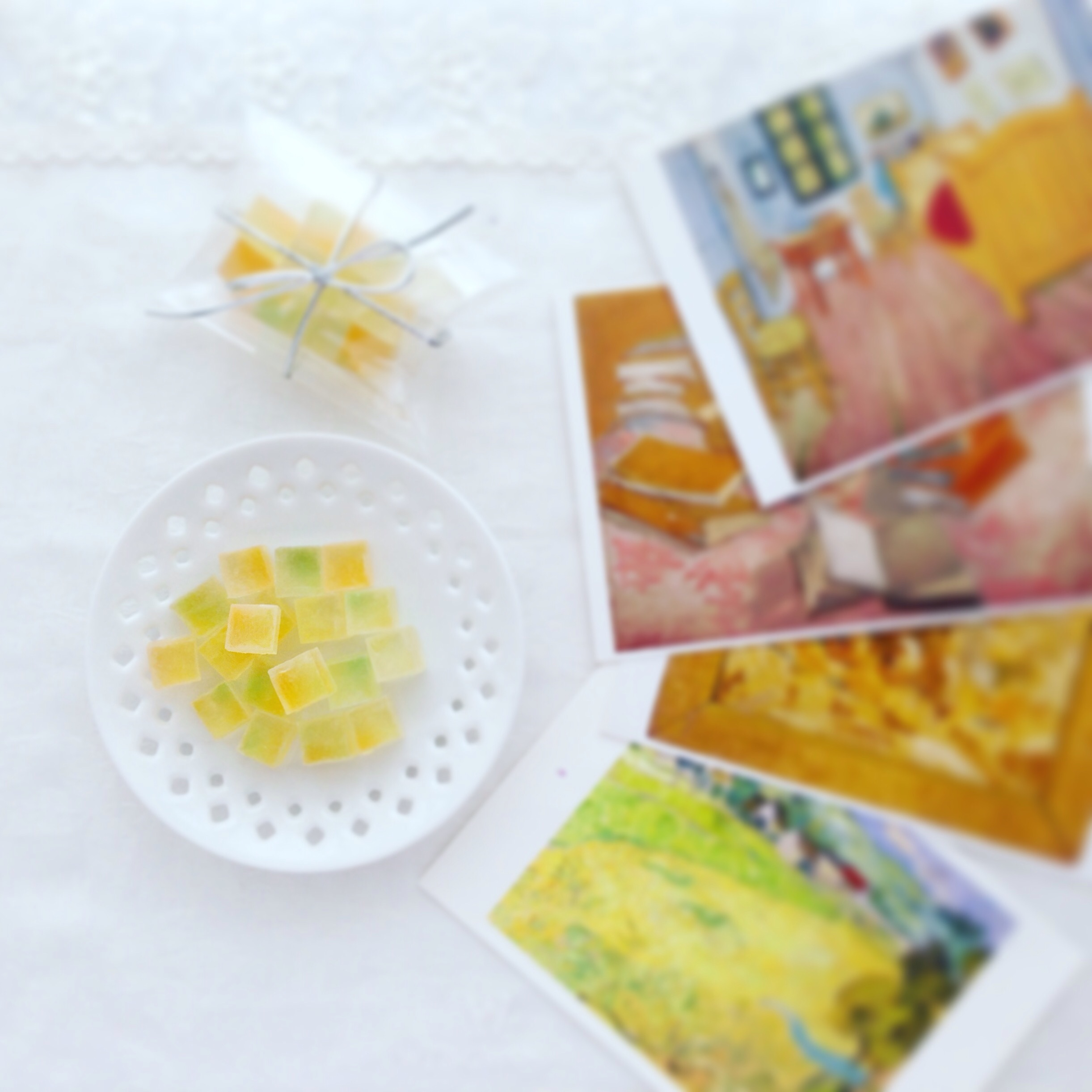 Sunflowers jelly - candy / Vincent van Gogh / Edible Art