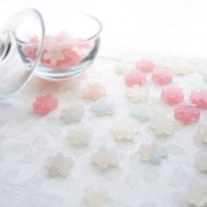 桜霞の琥珀糖 Kohaku Jelly – candy of Sakura