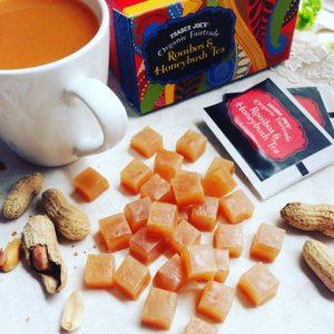 Peanuts taste Kohaku jelly-candy ピーナッツの琥珀糖レシピ