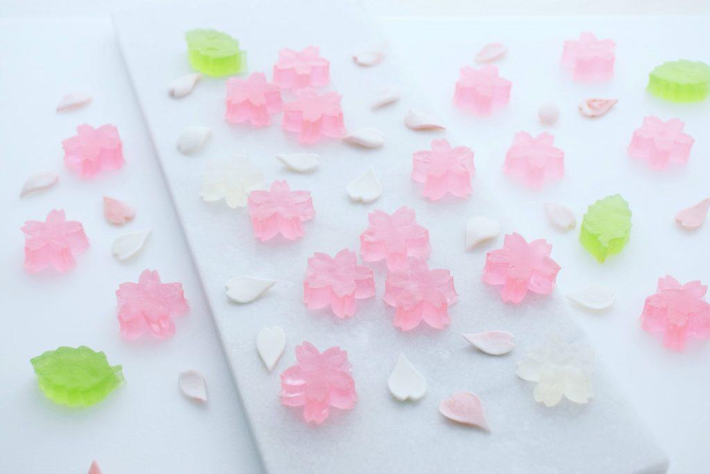 桜の琥珀糖