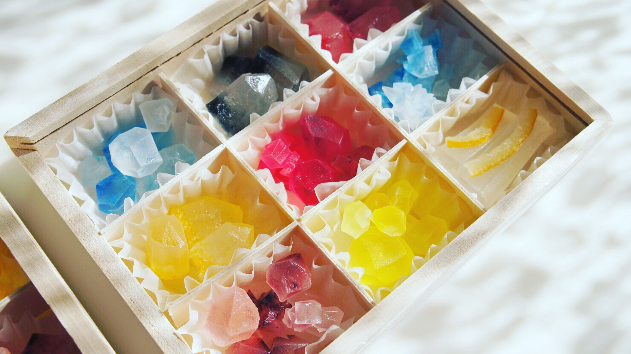琥珀糖 宝石箱