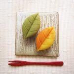 Autumn colored leaves 紅葉 ねりきり 黄葉