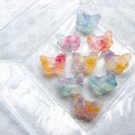 Pieces of seasons 季節のカケラ 琥珀糖 蝶