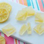 Kohakutou Slices Lemon スライスレモンの琥珀糖