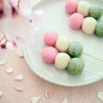 春色和菓子 道明寺 お花見だんご